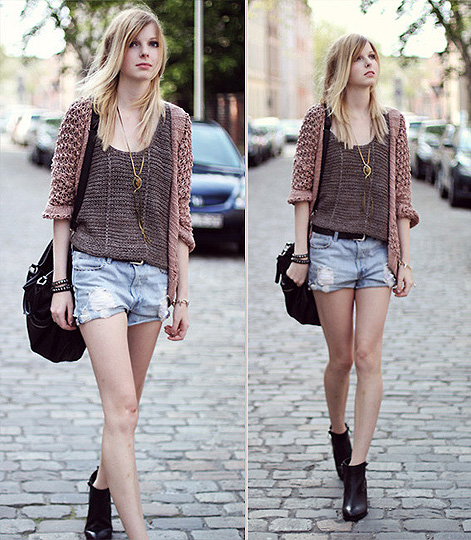Coarse knit. - Bag, Weeken, Sweaters, Weeken, Pants, Zara, Shoes, Topshop, Jana Spaceman