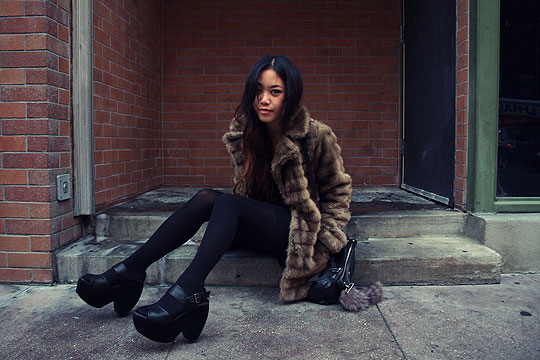 City Slicker - Faux fur jacket, Weeken, Arizka Sehoko