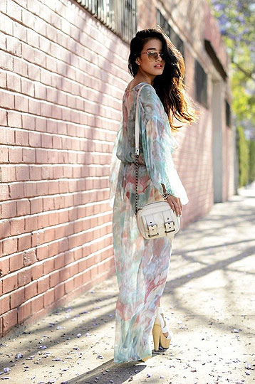 Watercolor - Dress, Weeken, BAGS, Weeken, Heels-wedges, Weeken, Olivia Lopez