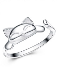 Catwalk Ring 925 Sterling Silver Rings are Silver