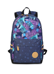 The new double shoulder bag travel star printing