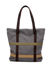 The new Tott fashion simple canvas ladies shoulder bag
