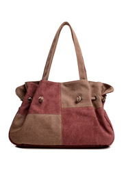 Retro fashion wild casual tide package canvas shoulder bag