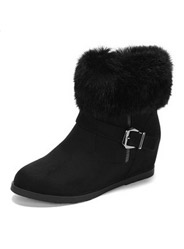 Daphne winter fashion buckle snow boots