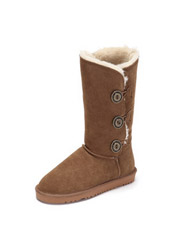 Daphn in the tube suede snow boots