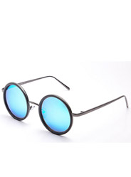 Round sunglasses men and women universal retro round box polarized sunglasses