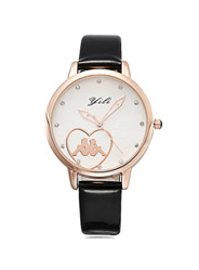 Fashion leisure Ms. gold-plated waterproof watch
